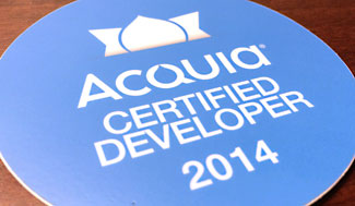 Acquia Certified Developer 2014