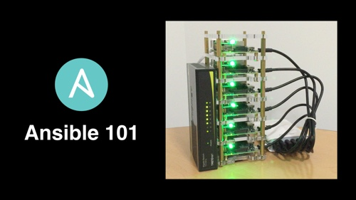 Ansible 101 - Raspberry Pi Dramble cluster