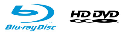 Blu-Ray and HD-DVD Logos