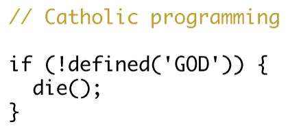 Catholic Programming - Design
