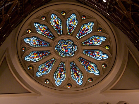 Rose Window - Holy Name Cathedral, Chicago