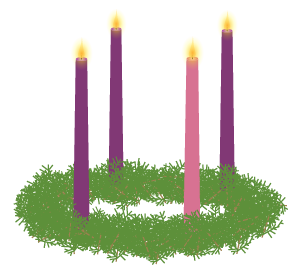 Advent Wreath - Vector Illustration by Jeff Geerling