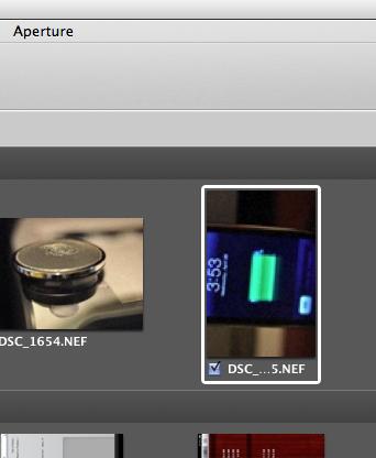 iPad - Aperture rotation import display bug