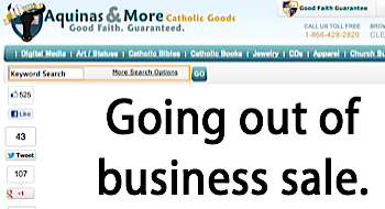Aquinas and more going out of business.