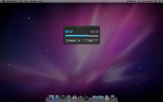 Breaktime App for Mac