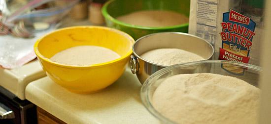 Chai Tea Mix Recipe - Finished Chai Tea Latte Mix in Bowls