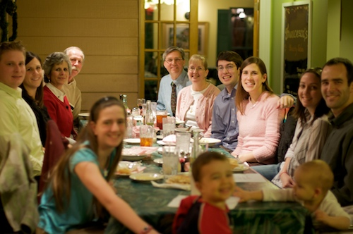 Geerling and Pequignot Family - Engagement Party at Cannoli's