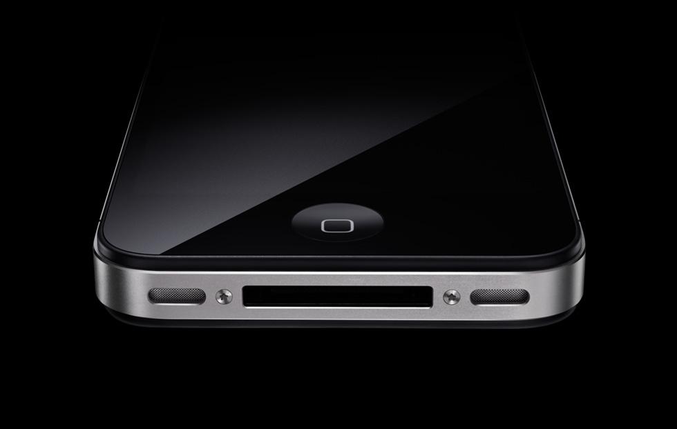 Bottom of iPhone 4