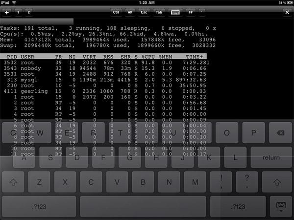 iTerm on iPad