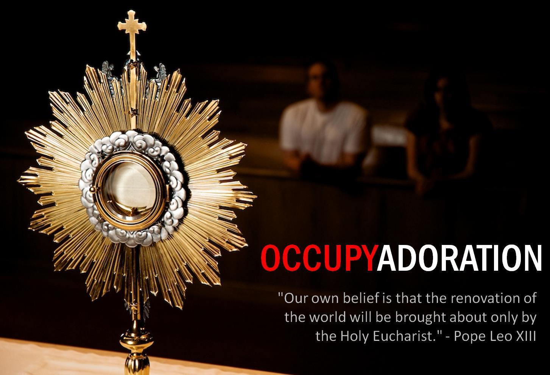 Occupy Adoration