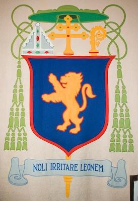 Noli Irritare Leonem - Crest of Archbishop Peter Richard Kenrick