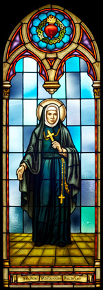 St. Rose Philippine Duchesne - Stained Glass