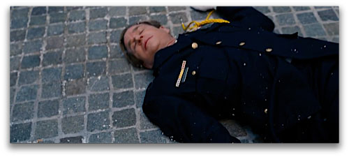 Sampietrini Officer killed in the Dark Knight Rises