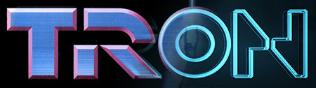 Tron Legacy and Original Logos - Blended