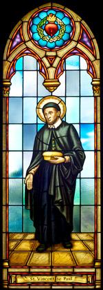 St. Vincent de Paul - Stained Glass