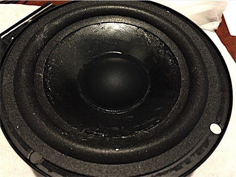 JBL J520m speaker new foam glued to cone