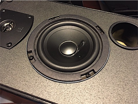 JBL J520m speaker with new woofer replacement