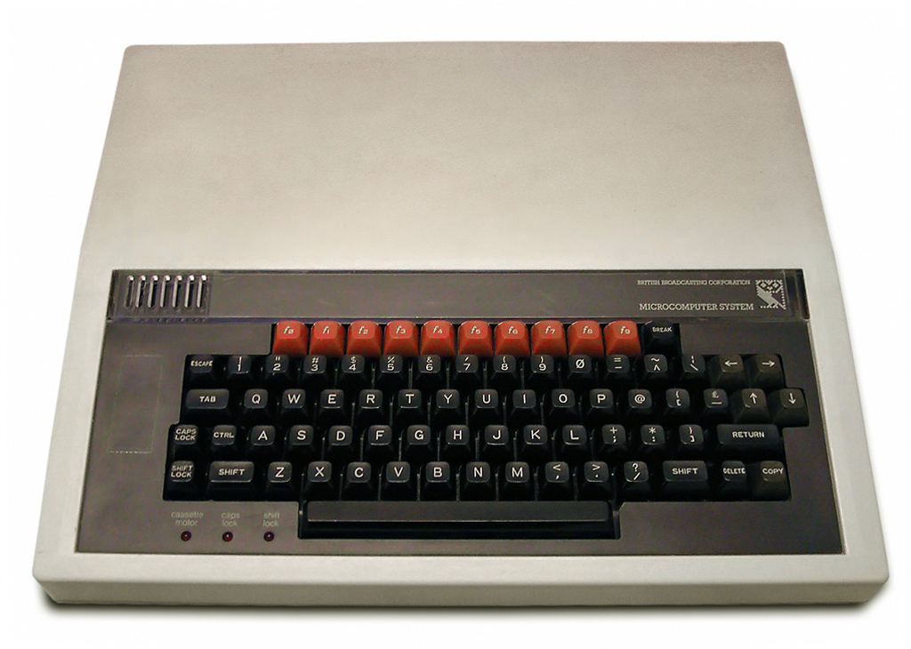 BBC Micro Minicomputer - Source: Wikipedia