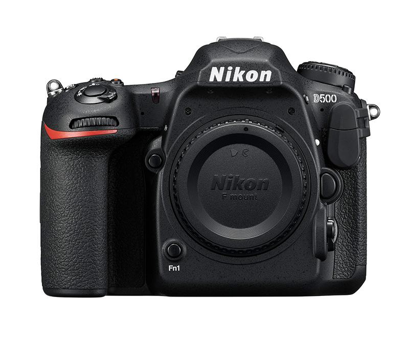 Nikon D500 Body front