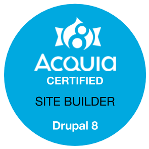 Acquia Certified Site Builder - Drupal 8