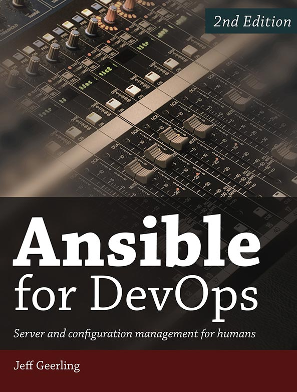 Ansible for DevOps, 2nd Edition - Cover