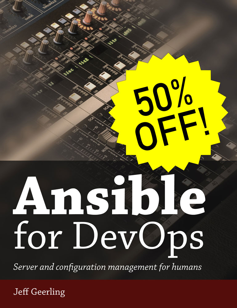 Ansible for DevOps - 50% off for Black Friday 2017
