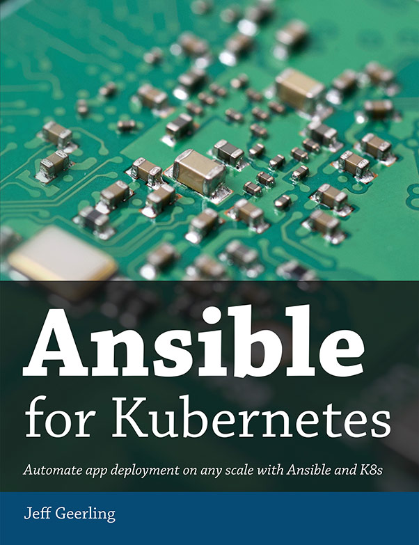 Ansible for Kubernetes cover