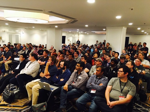 Ansible Roles talk audience at AnsibleFest SF 2016