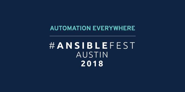 AnsibleFest Austin email promo