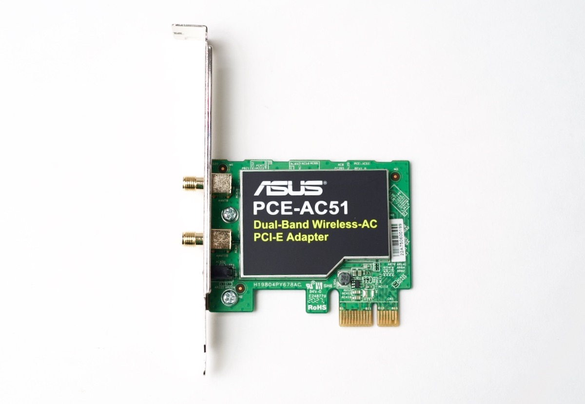 ASUS AC51 Wireless WiFi 802.11ac PCIe card