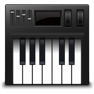 Apple Audio Midi setup app icon