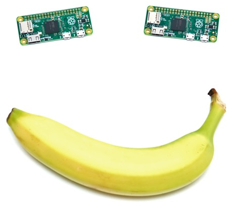 Banana Pi Zeros - Smiley face