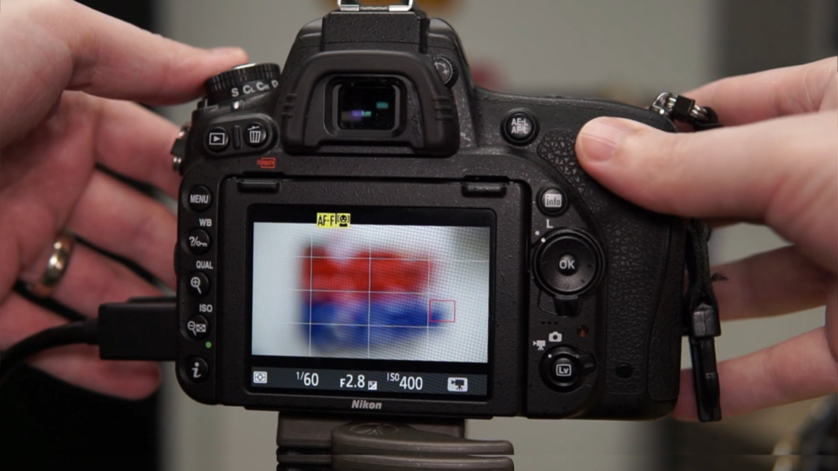 Nikon D750 Live view with AF-F full time autofocus