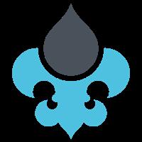 DrupalCamp St. Louis logo - Fleur de Lis
