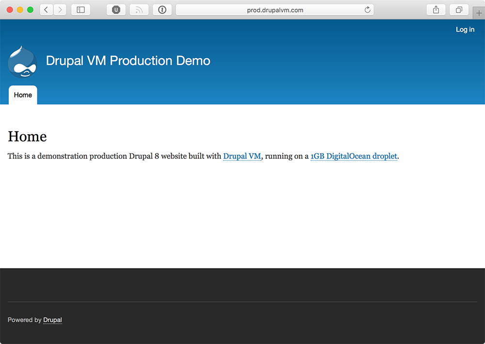 Drupal VM can manage production environments, too!