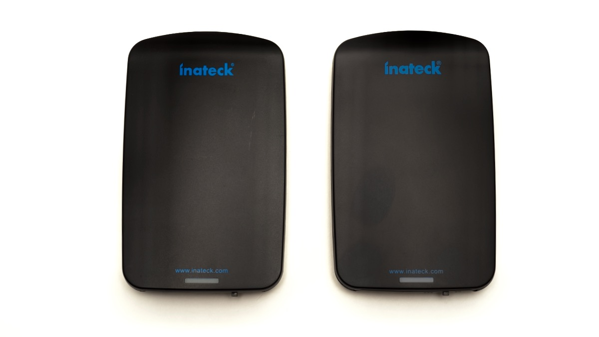 Inateck USB 3.0 SATA case - top side