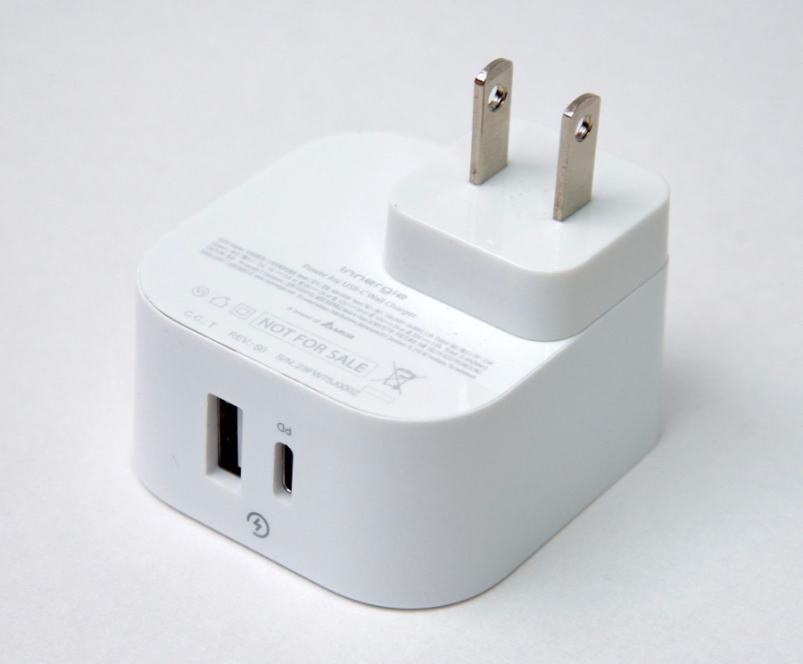 Innergie PowerJoy 30C USB-C wall power adapter - USB ports