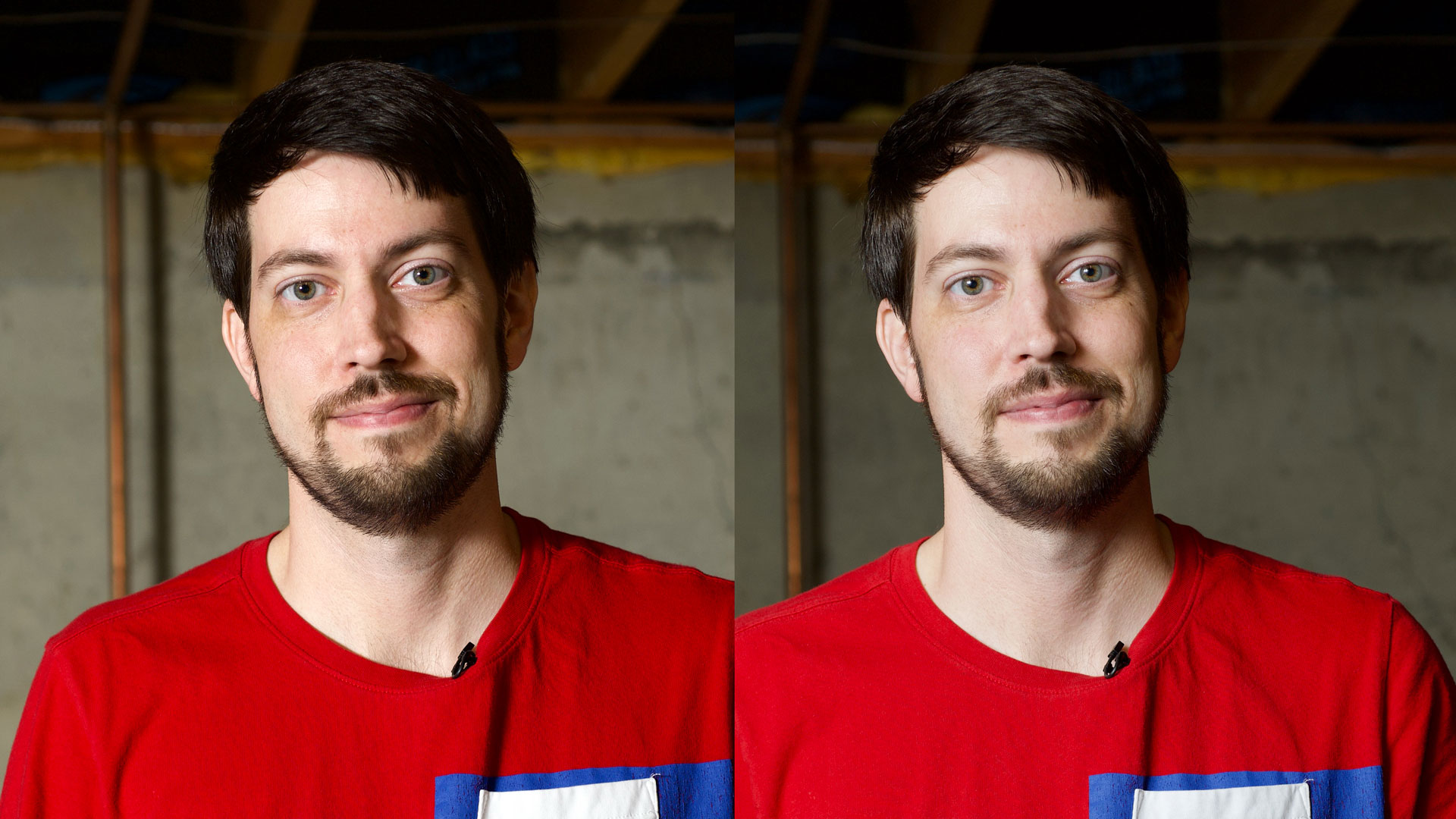 Jeff - Hard and soft light comparison