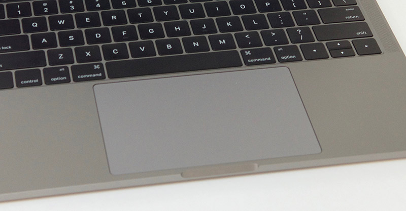 "2016 13"" MacBook Pro - large trackpad surface"