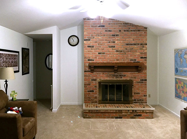 Latest Diy Project Fireplace Chimney Removal For A Nicer Living Room Jeff Geerling