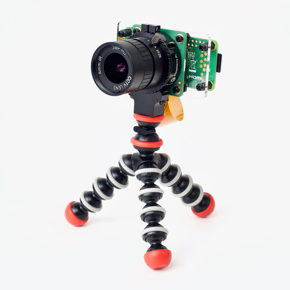 Pi Webcam on Tripod - Pi Zero W and HQ Camera