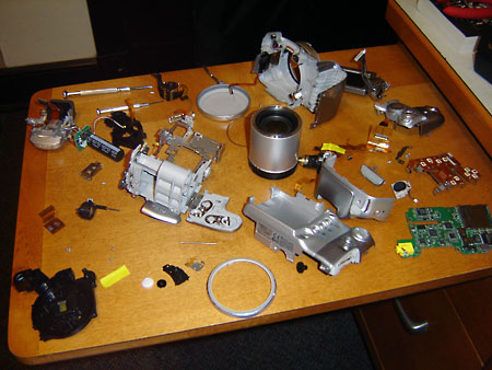 Canon PowerShot S2 IS Disassembly
