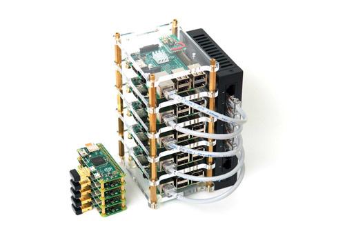 Raspberry Pi Dramble Cluster with Mini Raspberry Pi Zero Cluster