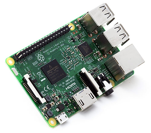 Raspberry Pi model 3 B from Raspberry Pi Foundation