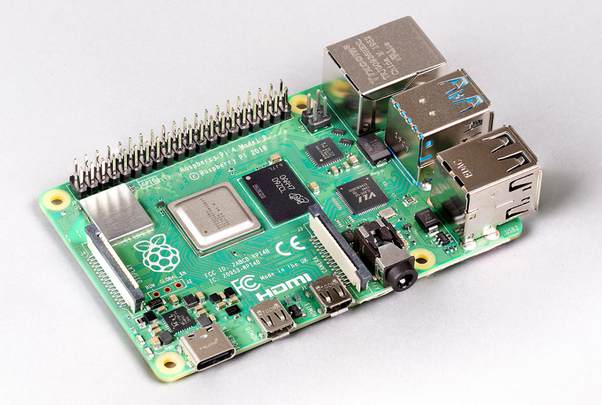 8GB Raspberry Pi 4 - photo from Raspberry Pi Foundation website