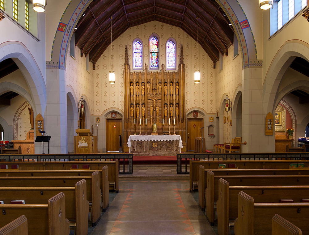St. Michael the Archangel Catholic Parish sanctuary