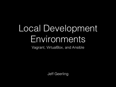 Local Development Environments