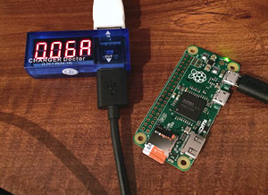 Raspberry Pi Zero - Power consumption minimum during idle