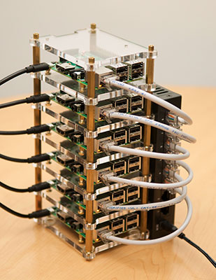 Raspberry Pi Dramble - cluster of Raspberry Pi computers