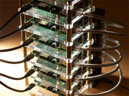 Raspberry Pi Dramble Bramble Cluster